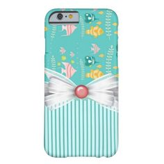 Whimsical Fish Barely There iPhone 6 Case | Zazzle