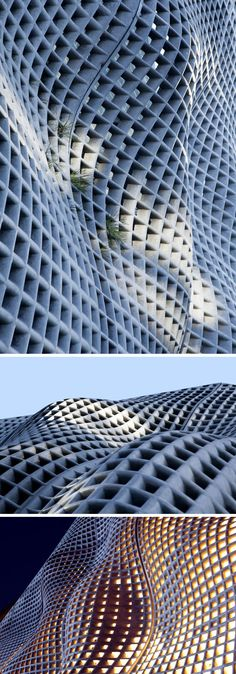 sculptural facade for a building in Beijing, China
