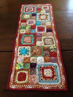 Babette Inspired Crochet Table Runner