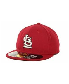 New Era St. Louis Cardinals Authentic Collection 59FIFTY Hat - Red 7 3/8