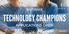 I am delighted to announce applications for the 2017 Nutanix Technology Champion (NTC) program are now open. Applications will be accepted up to November7, 2016, at midnight PST. NTCs for 2017 will be announced in December.  This program recognizes Nutanix and Enterprise Cloud experts for their on...