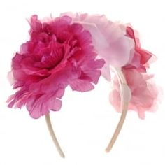 Johnny Loves Rosie Reina Floral Corsage Hairband