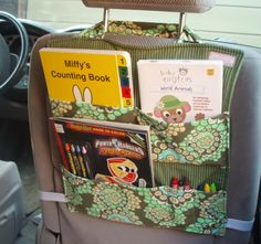 Car Seat Organizer - What a great idea!!!!
