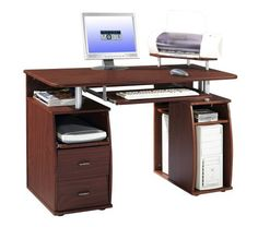 $135.99 Techni Mobili Atea Wood Computer Workstation in Mahogany by Techni-Mobili, http://www.amazon.com/dp/B001IW5ZXQ/ref=cm_sw_r_pi_dp_Bugusb1F2MNGY