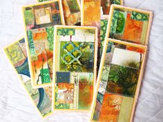 """Handmade by Yulianna: Notepad """"Withering"""""""