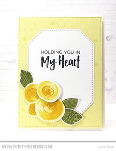 Kreative Jewels: Holding You in My Heart Quick Cards, Cute Cards, Diy Cards, Card Making Tutorials, Card Making Techniques, Deepest Sympathy, Bee On Flower, Mft Stamps, Flowers