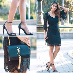 LBD by Lulus.com and shoes by Schutz #losangeles #lovelulus #shoes #heels #schutz