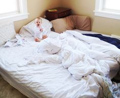 montessori floor bed experience