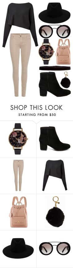 """""""Untitled 225"""" by meaganmuffins ❤ liked on Polyvore featuring Topshop, Steve Madden, 7 For All Mankind, Crea Concept, MICHAEL Michael Kors, rag & bone and Prada"""