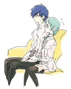 I like fuuka way better with her braid