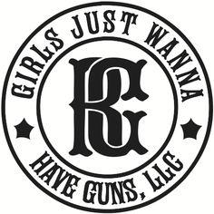 (http://patriotdepot.com/girls-just-wanna-have-guns-circle-sticker-b-w/)