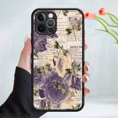 Dragonfly pattern phone case cover 203 Black (Apple Models Only) - 8