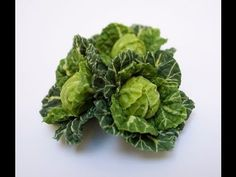 Making Miniature Cabbages in 12th Scale - Angie Scarr Fruit & Vegetables DVD Kohl Teil 1