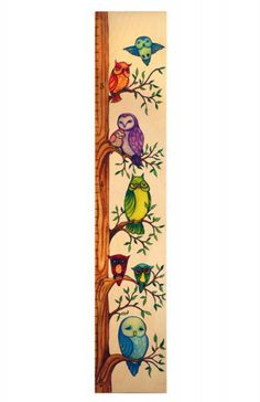 Birch Tree Of Life Wooden Growth Chart  Baby Stuff