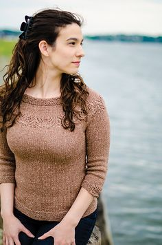 Ravelry: Oak Harbor Pullover pattern by Marie Grace Smith