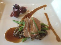 Roasted Sonoma Duck with wild rice - Food & Wine Pairing at St Francis Winery