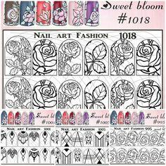 Мы не можем Вас на долго оставить без новиночек  !НОВИНКА! Слайдеры-трафареты Sweet bloom  ЦЕНА 50 руб. Согласитесь, выкладывать объемные узоры не так уж и просто. Требуется достаточно много времени, чтобы научиться делать их идеальными Поэтому, слайдеры- трафареты Nail Art Fashion Sweet bloom - это просто потрясающая находка для любого мастера! Интернет-магазин ноготочкивсем.рф