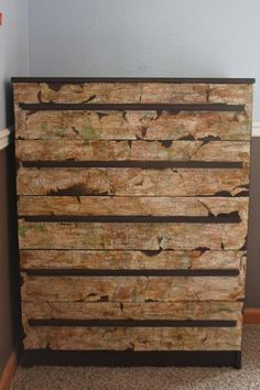 Tutorial Tuesday: Mod Podge and Maps … and a dresser!