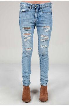 Denim Jeans, jeggings y Vaqueros para Mujer Denim Jeans, Skinny Jeans, Boyfriend Jeans, Jeggings, Pants, Fashion, Women, Clothing, Trouser Pants