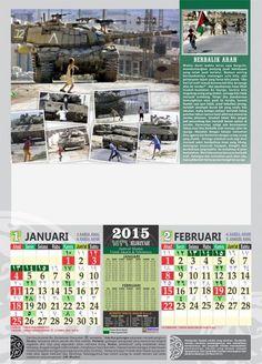 Kalender Islami Haniefa Kreasi Nasional tahun 2015 - Palestina Januari ...