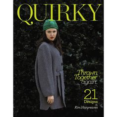 "Photo from album ""Kim Hargreaves Quirky on Yandex. Knitting Books, Vintage Knitting, Knitting Yarn, Free Knitting, Simple Knitting, Knitting Magazine, Crochet Magazine, Easy Knitting Patterns, Knitting Projects"
