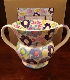 Emma Bridgewater Daisy Chain Two Handled Mug for John Lewis 2014