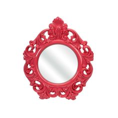 Finely Pink Baroque Wall Mirror Imax Arched & Crowned Mirrors Home... (7,575 INR) ❤ liked on Polyvore featuring home, home decor, mirrors, pink mirror, baroque mirror, arch mirror, pink home decor and baroque home decor