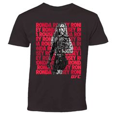 Ronda Rousey UFC Youth Fighter Repeat T-Shirt - Black 65e4498e4
