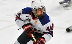 Ridgefield native Chad Krys will play at Boston University, following one more season with USA Hockey's NTDP. - NTDP photo