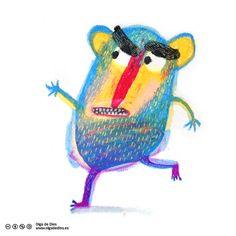Museo de Ceras #86 – OLGA de DIOS Children's Book Illustration, Graphic Design Illustration, Digital Illustration, Let's Make Art, Fairy Tales For Kids, Sketchbook Inspiration, Illustrations And Posters, Drawing For Kids, Cute Drawings