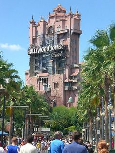 Tower of Terror- LOVE this ride!
