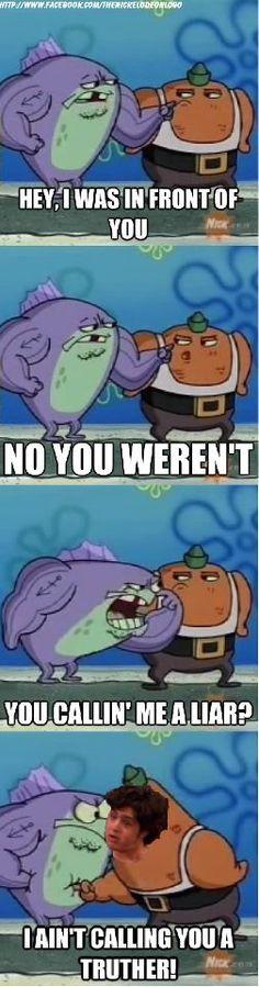 Hahahahaha Two of my best childhood memories!!! Actually I still watch spongebob... hahaha