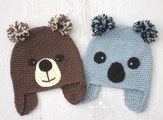 Yarnspirations has released a new lookbook in celebration of 100 years of Caron yarn!The Caron Collection is FREE and full of 20 adorable crochet and knit hat patterns! I had fun crochetingthe Koala-ty Hat but took the pattern a step further: I usedthe koala pieces and transformed it into a bear – same pattern, different …