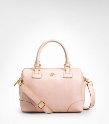 Tory Burch Robinson Mini Satchel in Tuberose Pink