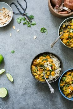 Sweet Potato, Chickpea & Spinach Coconut Curry from the Oh She Glows Every Day Cookbook (Vegan + Gluten-Free) // The Green Life
