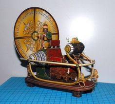 Time Machine Paper Craft - click image at site for free download or version 1 at http://erkelzaar.tsudao.com/models/tamasoft-co-jp-TMpapermodel.jpg