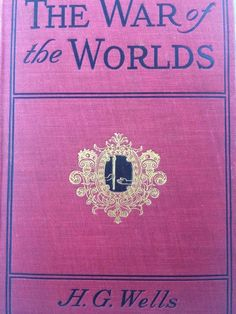 THE WAR OF THE WORLDS BY H.G. WELLS *2nd US EDITION* Larry McMurtry's copy