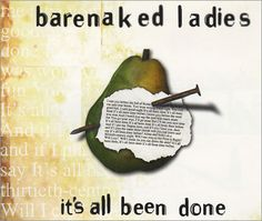 "For Sale - Barenaked Ladies It's All Been Done Germany Promo  CD single (CD5 / 5"") - See this and 250,000 other rare & vintage vinyl records, singles, LPs & CDs at http://991.com"
