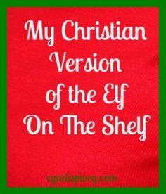 Christian Version of Elf on the Shelf