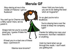 See more 'Ideal GF' images on Know Your Meme! Harry Potter Fan Art, Harry Potter Hogwarts, Harry Potter World, Harry Potter Memes, Type Of Girlfriend, Hogwarts Mystery, Know Your Meme, Slytherin, Fun Meme