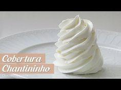 Receita de Chantininho - Cobertura para Bolos e Cupcakes - Choco Me Up!