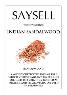 Indian Sandalwood Woody 100 Incense Joss Sticks Agarbatti by Saysell #Saysell #Woody