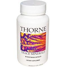 Thorne Research, Trace Minerals, 90 Veggie Caps - iHerb.com