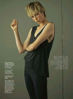 Edie Campbell for S Moda by Santiago and Mauricio