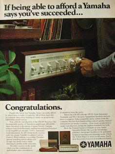 Yamaha CR-420 Receiver Ad - 1978