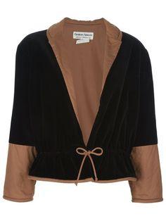 Giorgio Armani Vintage Contrast Jacket - A.n.g.e.l.o Vintage - Farfetch.com