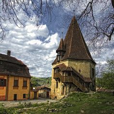 I believe this is in Romania... not sure but what i do know is that it makes me think of Rapunzel