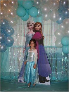 Frozen birthday party next year?