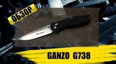 Ganzo G738 - обзор ножа