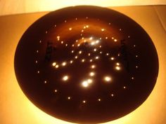 Drum Cymbal Ceiling Light by GriffinLamps on Etsy, $109.00